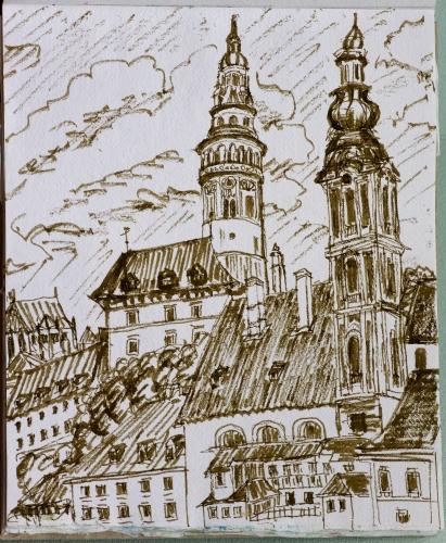 Czesky Krumlov, Czech Republic
